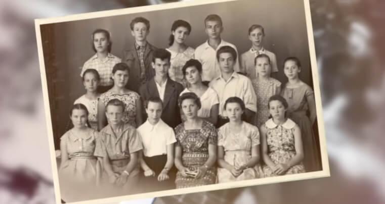 Школьное фото Жириновского.