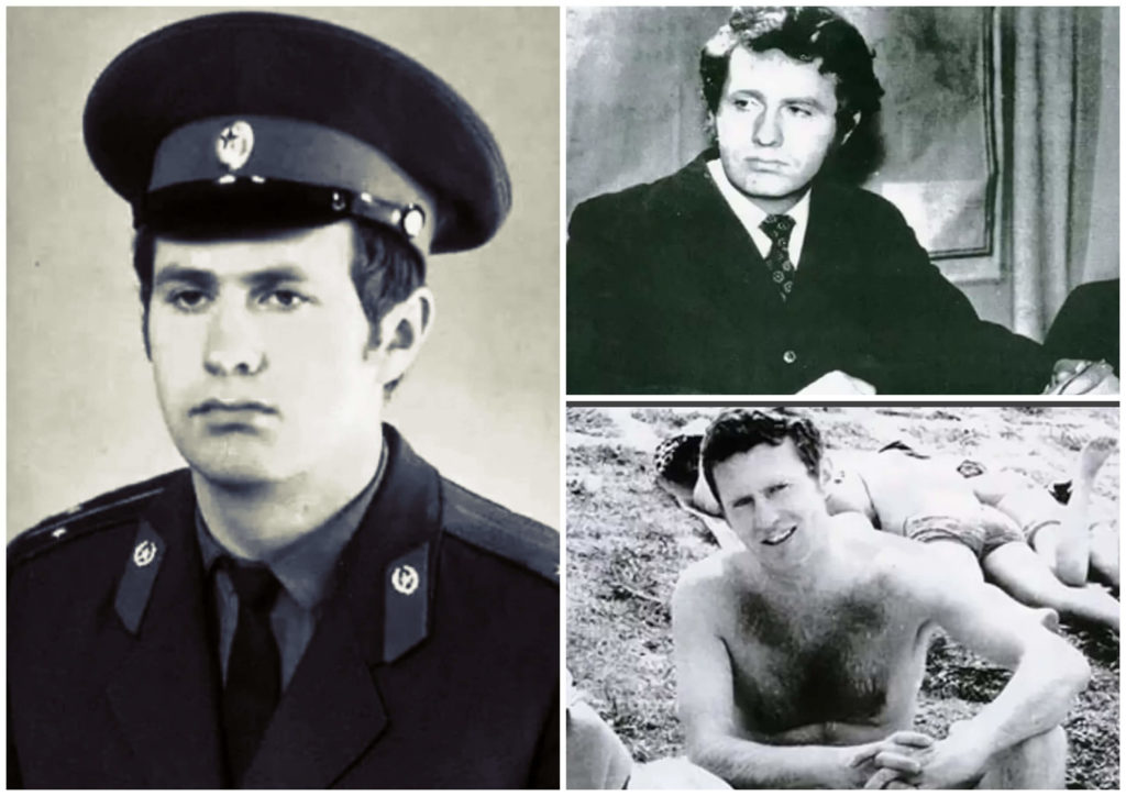 В. Жириновский в молодости.