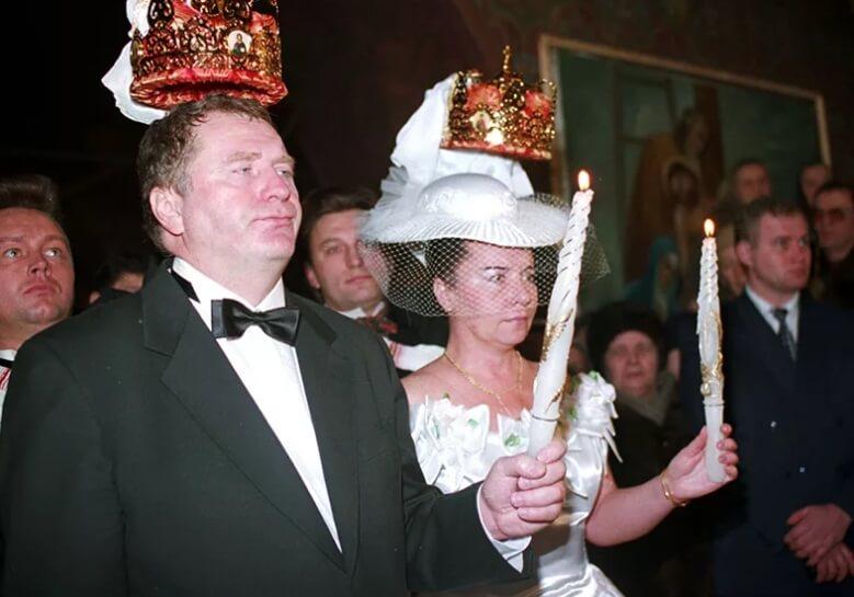 Венчание Жириновского.