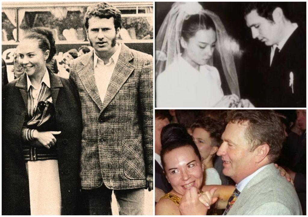 Владимир Жириновский с женой.