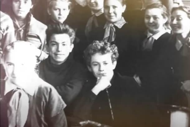 Жириновский в школе.